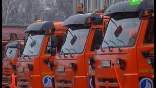 Владимир Елистратов оценил готовность спецтехники к снежному сезону