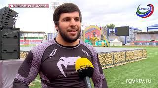 В Грозном прошел Фестиваль культуры и спорта народов Кавказа