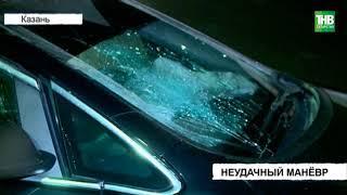Шевроле Лачетти и Опель Астра столкнулись возле посёлка Большие Дербышки на трассе М7 | ТНВ