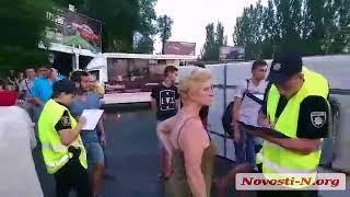 """Видео """"Новости-N"""": ДТП в Николаеве пьяный водитель на «Ниссане» и маршрутка"""