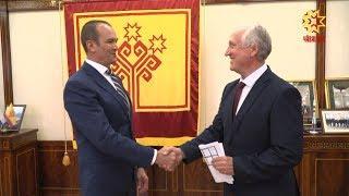 Глава Чувашии встретился с вновь избранным председателем Общественной палаты.