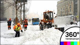 Зима вновь взяла власть над столичным регионом