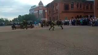 Показательное выступление спецназовцев в Барнауле. Видео