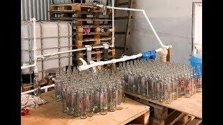 В Минводах обнаружили незаконное производство вина и водки