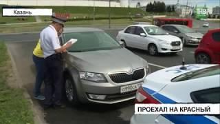 Один человек пострадал в результате аварии на пересечении улиц Ташаяк и Лево-Булачная - ТНВ