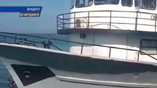 Крымских рыбаков спасают сотрудники ФСБ и власти республики