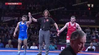 Триумфом российских спортсменов завершился в Каспийске чемпионат Европы по вольной борьбе
