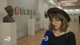В доме союза художников Дагестана открылась персональная выставка Али-Гаджи Сайгидова