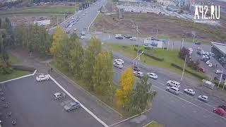 ДТП Кемерово, Октябрьский-Соборная 23.09.2018