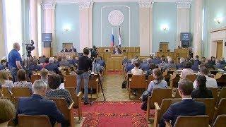 В Саранске прошла очередная сессия Государственного Собрания Мордовии