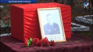 Поисковики передали останки советского летчика, погибшего в Маревском районе, его родственникам