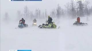 В Приисковом во время сильной бури пропали четверо туристов на снегоходах