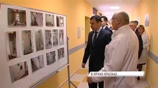 В больнице имени Соловьева после ремонта открыли лор-отделение