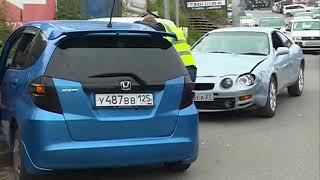 Лёгким испугом отделались водители и пассажиры в ДТП на Юмашева