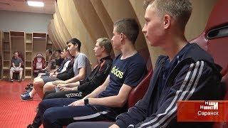 """Футбольный урок на """"Мордовия Арене"""""""
