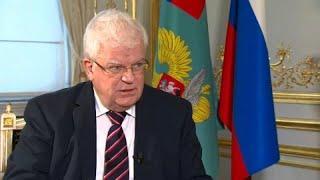 Постпред РФ об Интерполе, европейской армии и Азове: полное интервью…