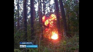 В Калининграде осуждён местный житель с необычным взрывным хобби