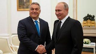 Путин и Орбан договорились расширять сотрудничество