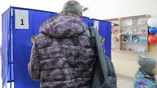 Новосибирск Голосование на выборах президента РФ