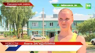 Открытое горение на полигоне ТБО вблизи деревни Орёл - ТНВ