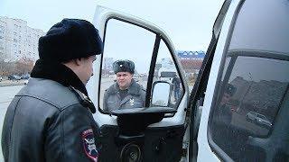 Сотрудники ГАИ проверили волгоградские маршрутки