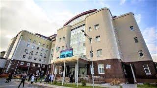 Н. Комарова и А. Моор посетили Центр адаптивного спорта и кардиологическую больницу в Сургуте