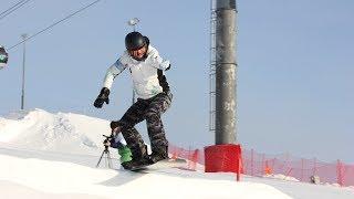 Чтобы югорчанин лучше подготовился к паралимпиаде, в Ханты-Мансийске изменили горнолыжный склон