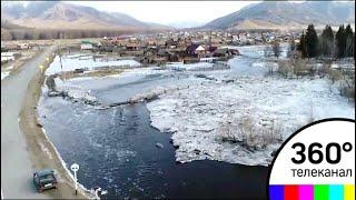 В Алтайском крае из-за паводка ввели режим чрезвычайной ситуации
