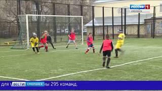 В Смоленске стартовал «Кожаный мяч»