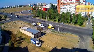 ДТП (авария г. Волжский) ул. Карбышева ул. Оломоуцкая 12-09-2018 14-47