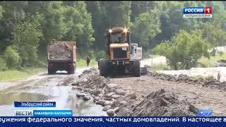 В Кабардино-Балкарии после разлива горных рек идут аварийно-восстановительные работы.