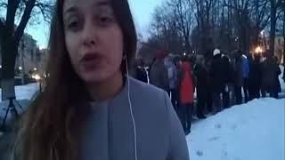 Ярославцы у памятника Петру и Февронии почтить память погибших в Кемерове