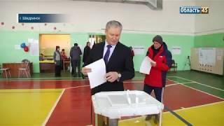 Губернатор Курганской области Алексей Кокорин не скрывает свой выбор