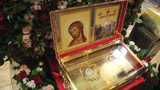 В Саранск привезли божественную реликвию