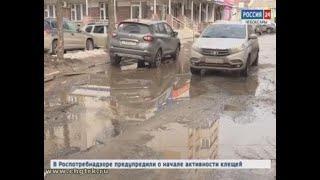 Чебоксарские водители страдают от бездорожья