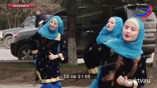 Жители Каспийска активно голосуют