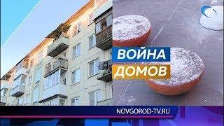 Жители 1-го и 2-го корпусов дома №4 по улице Зелинской развернули настоящую дорожную войну