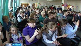 Магаданская общеобразовательная школа №7 отметила 65-летие