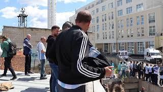 Фанаты атакуют отель, где остановился Месси