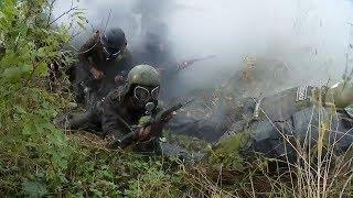 Бойцы спецназа УФСИН проходят входной контроль перед испытанием на право ношения крапового берета