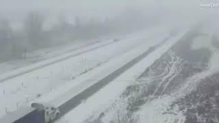 Масштабное ДТП на трассе Киев - Одесса 27.02.2018