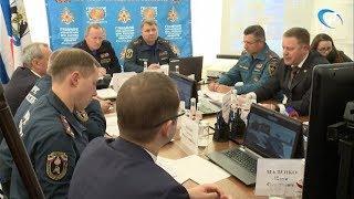 Олег Баженов принял участие в заседании региональной комиссии по чрезвычайным ситуациям