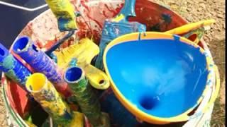 Сотрудники АО «Черниговец» благоустраивают детские площадки