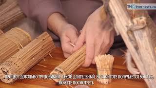 Жительница Тверской области делает музыкальные инструменты из борщевика