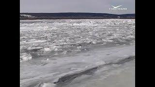 МЧС предупреждает об опасности выхода на лед Волги