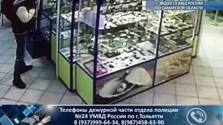 В Тольятти разыскивают похитителей, орудовавших в торговом центре