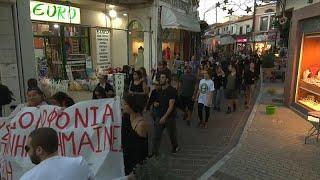 Мнения в греческом Лесбосе разделились из-за лагеря для мигрантов…