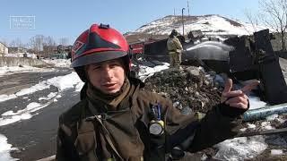 Резервуар с топливом загорелся в Петропавловске | Новости сегодня | Происшествия | Масс Медиа