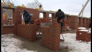 В Болчарах строят новый детский сад