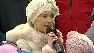 В Красноярске прошёл флешмоб в поддержку детей-аутистов